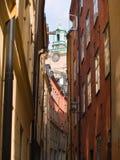 gamla stan斯德哥尔摩 免版税库存照片