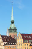 Gamla Stan à Stockholm Images stock