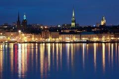 Gamla Stan à Stockholm, Suède Photos libres de droits