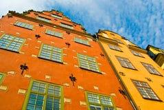Gamla Stan, Éstocolmo, Sweden Fotos de Stock Royalty Free