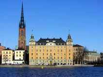 gamla stan Στοκχόλμη Στοκ εικόνα με δικαίωμα ελεύθερης χρήσης