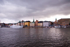 gamla stan Στοκχόλμη Στοκ Εικόνα
