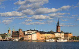 Gamla stan. Old town in the Swedish capital Royalty Free Stock Image