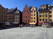 Gamla stan. Stortorget place in Gamla stan, Stockholm Stock Photography