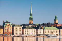 Gamla Stan city in central Stockholm Stock Photography
