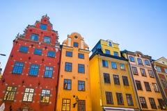 Gamla Stan dans la ville de Stockholm, Suède images stock