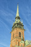 Gamla stan dome Stock Images