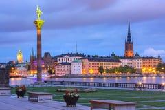 Gamla Stan em Éstocolmo, Sweden foto de stock royalty free