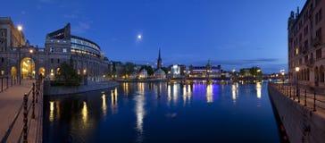 Gamla Stan en Estocolmo Fotografía de archivo libre de regalías