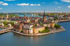 Gamla Stan en Estocolmo Imagen de archivo libre de regalías