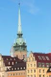 Gamla Stan en Estocolmo Imagenes de archivo