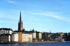 Gamla Stan en Estocolmo fotos de archivo