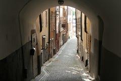 Gamla Stan en Estocolmo, Suecia. Imágenes de archivo libres de regalías
