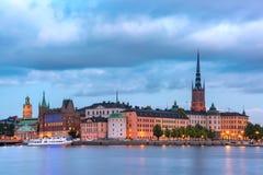 Gamla Stan en Estocolmo, Suecia foto de archivo