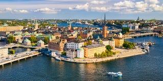 Gamla Stan en Estocolmo, Suecia Fotografía de archivo