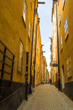 Gamla Stan, Estocolmo, Suecia Foto de archivo libre de regalías