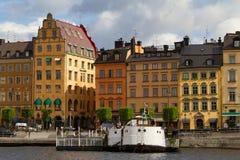 Gamla Stan - historic area of Stockholm Royalty Free Stock Photos