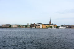 Gamla stan of the island Stadsholmen Stock Photo