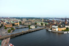 Gamla stan of the island Stadsholmen Royalty Free Stock Photography