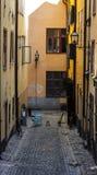Gamla stan na Suécia de Éstocolmo Imagens de Stock