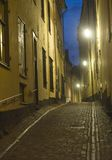 Gamla Stan at night Royalty Free Stock Image