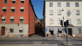 Gamla Stan Old Town Stockfoto