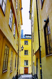 Gamla Stan,The Old Town in Stockholm Royalty Free Stock Image