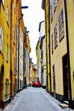 Gamla Stan,The Old Town in Stockholm Stock Photography