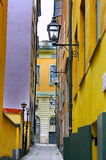 Gamla Stan,The Old Town in Stockholm Stock Photo
