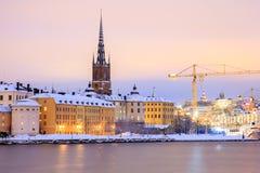 Gamla Stan Old Town Stockholm Stockbilder