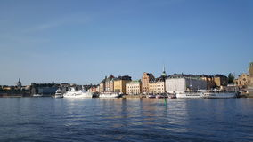 Gamla stan old town Royalty Free Stock Images