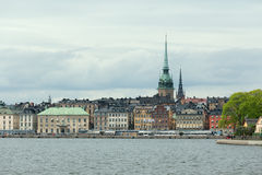 Gamla Stan, the old town of Stockholm Royalty Free Stock Images