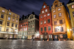 Gamla stan place in Stockholm Royalty Free Stock Photography