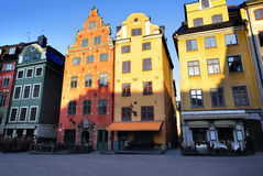 Gamla Stan Stoccolma Fotografia Stock Libera da Diritti