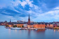 Gamla Stan a Stoccolma, Svezia immagini stock libere da diritti