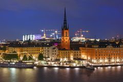 Gamla Stan a Stoccolma, Svezia fotografia stock