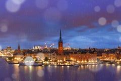 Gamla Stan a Stoccolma, Svezia immagine stock