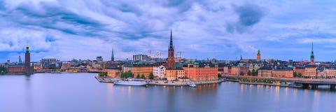 Gamla Stan a Stoccolma, Svezia immagini stock
