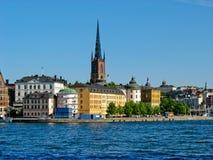 Gamla Stan a Stoccolma, Svezia Fotografia Stock Libera da Diritti