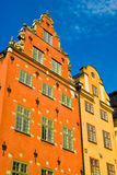 Gamla Stan, Stoccolma, Svezia Immagini Stock Libere da Diritti