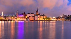 gamla stan stockholm Швеция стоковые изображения