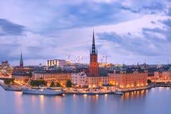 gamla stan stockholm Швеция стоковая фотография