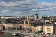 Gamla Stan, Stockholm. The Old Town (Gamla Stan) of Stockholm, capital of Sweden Royalty Free Stock Images