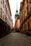 gamla stan stockholm Arkivfoto