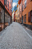 Gamla stan in Stockholm Royalty Free Stock Photo