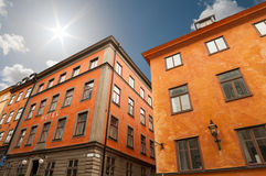 Gamla stan in Stockholm Royalty Free Stock Photos