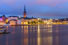 Gamla Stan in Stockholm, Schweden lizenzfreie stockfotos