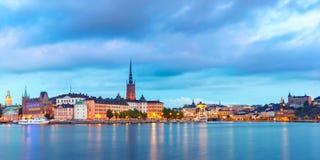 Gamla Stan in Stockholm, Schweden stockbilder