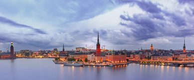 Gamla Stan in Stockholm, Schweden stockfoto