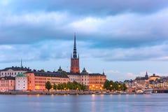 Gamla Stan in Stockholm, Schweden stockfotos